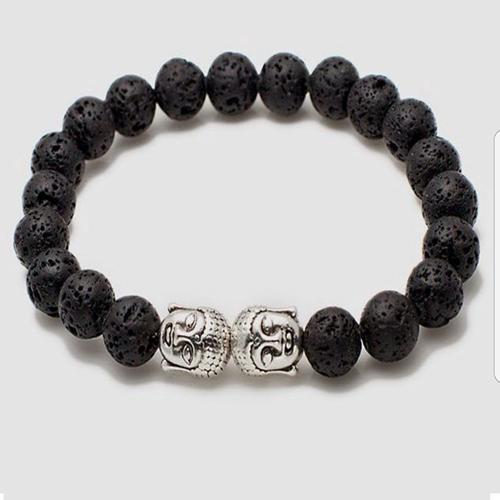 Double Buddha Chakra Bracelet