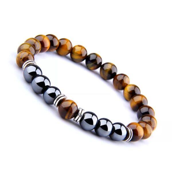 Black Hematite Tiger eye Bracelet